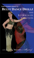 Belly Dance Drillz and Intermediate Variations, Belly Dance DVD image