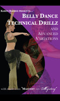 Belly Dance Technical Drillz and Advanced Variations, Belly Dance DVD image