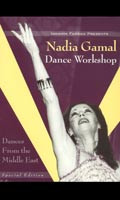 Nadia Gamal Dance Workshop, Belly Dance DVD image