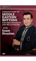 Introduction to Middle Eastern Rhythms with Issam Houshan, Belly Dance DVD image