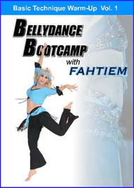 Bellydance Bootcamp with Fahtiem Vol. 1, Belly Dance DVD
