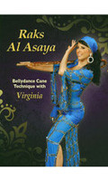 Raks Al Asaya - Bellydance Cane Technique, Belly Dance DVD image