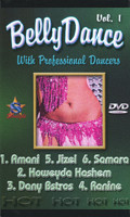 Belly Dance with Professional Dancers Vol 1, Belly Dance DVD image