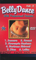 Belly Dance with Professional Dancers Vol 2, Belly Dance DVD image