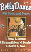 Belly Dance with Professional Dancers Vol 6, Belly Dance DVD image