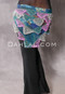 Floral Teal, Pink With Silver, Pink and Teal Beads