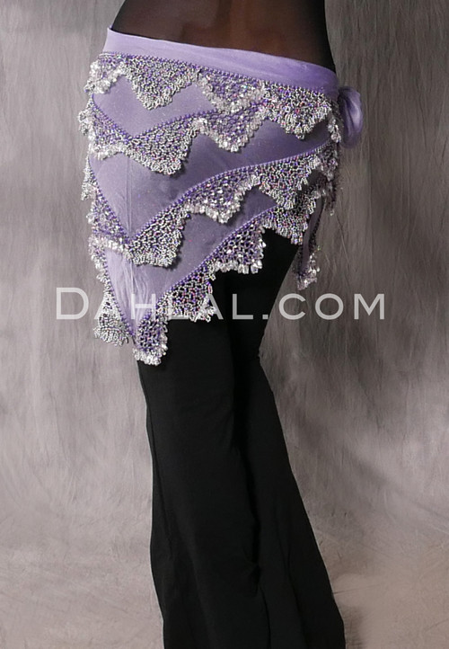 Back View of Lavender and Silver