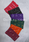 multi-colored assuit fabric pieces