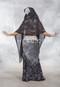 black assuit fabric piece