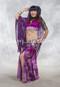 purple assuit Egyptian fabric