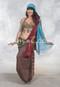 turquoise assuit scarf