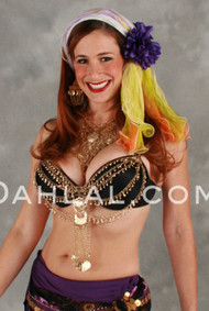 Egyptian Bitty Bell Bra Drape or Necklace