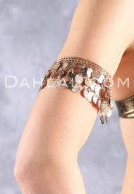 Egyptian Coin Bangle for Belly Dance