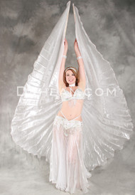 Satin Chiffon Wings of Isis