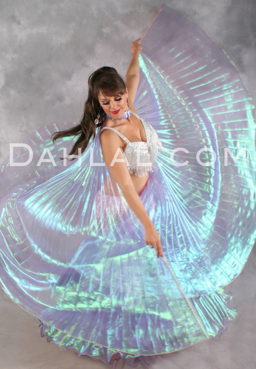 Shimmering Iridescent Wings of Isis