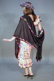 Paillette Embellished MELAYA LEFF, from Egypt, for Belly Dance