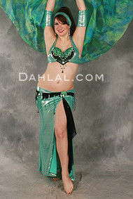 EFFERVESCENT in Aqua and Black from Diamond by Dahlal U.S.A.