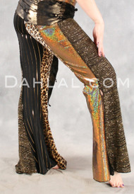 NASREEN Pant in Gold from Off The Nile