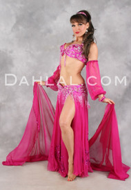 EXTRAVAGANCE Ensemble by Pharaonics of Egypt, Egyptian Belly Dance Costume Available for Custom Order