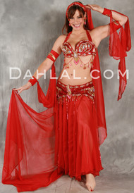 VENUS by Pharaonics of Egypt, Egyptian Belly Dance Costume, Available for Custom Order