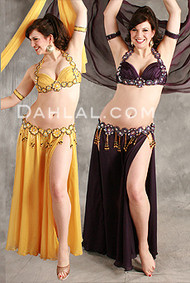 INNATE CHARM by Hoda Zaki, Egyptian Belly Dance Costume, Available for Custom Order