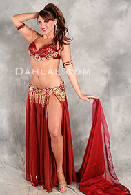 EPIC ENTICEMENT by Hoda Zaki, Egyptian Belly Dance Costume, Available for Custom Order
