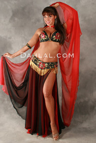 MYSTERY MUSE by Hoda Zaki, Egyptian Belly Dance Costume, Available for Custom Order