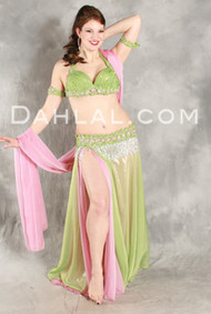 RADIANT BLISS by Hoda Zaki, Egyptian Belly Dance Costume, Available for Custom Order