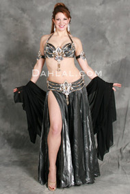 LIGHTNING STRIKES by Hoda Zaki, Egyptian Belly Dance Costume, Available for Custom Order