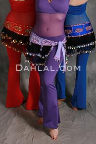 Mesh Ruffles Hip Wrap for Belly Dance