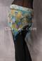 Single Row Egyptian Beaded Crocheted Scarf
