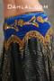 Egyptian beaded velvet hip scarf
