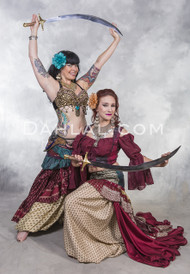 Balanced SCIMITAR SWORD for Belly Dance