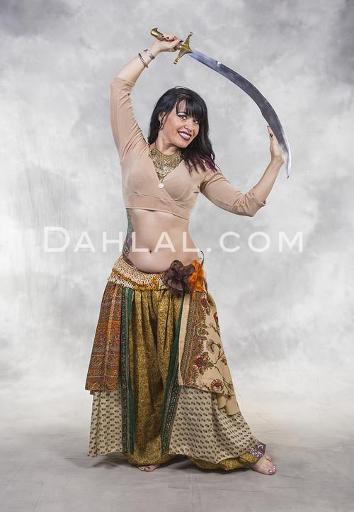 Balanced SCIMITAR SWORD for Belly Dance
