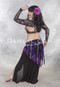 minya slinky skirt for belly dance