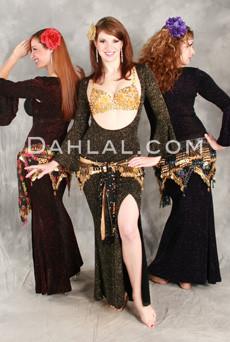 MINYA Glitter Slinky Beledi Dress by off the Nile image