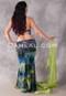 tie dye mermaid skirt