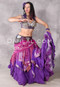 Purple Tribal Essentials Skirt Shown Worn Over A Purple Maharani Skirt