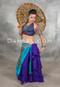 Purple 25 Yard Tribal Skirt