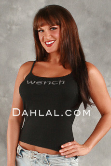 """Wench"" Strappy T image"