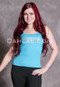 turquoise belly dance tank top