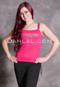 fuchsia belly dance tank top