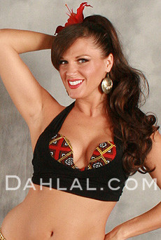 Bedouin Trimmed Tribal Bra Top from Egypt image
