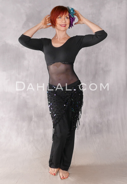 IMPERIAL 3/4 Sleeve Mesh Middle Unitard