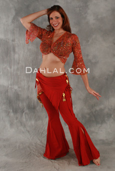 MEMPHITE PANT, in Cotton Lycra, for Belly Dance image