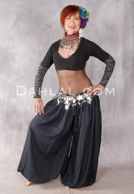 Black Hypnotic Harem Pants