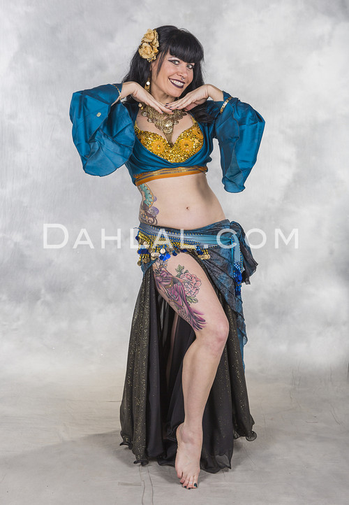 flower bra for belly dance