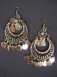 Coin Earrings - Style 5