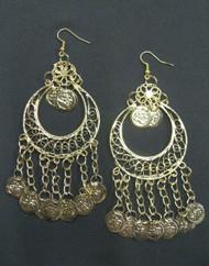 Coin Earrings - Style 6