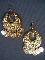 Coin Earrings - Style 7